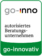Plakette BU go-innovativ